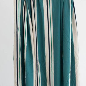 Mind The MAKER - Line Flow Aqua Viscose Twill Dress Fabric