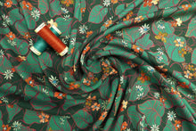 Lady McElroy - Oriental Vines Viscose Dress Fabric