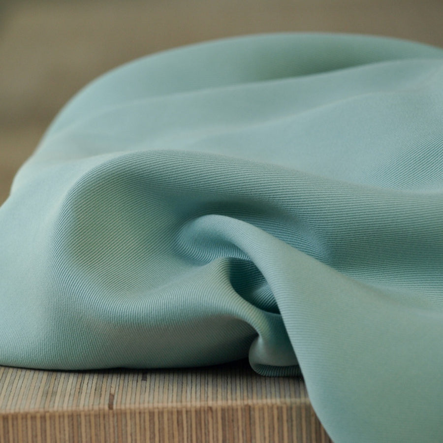 Meet MILK - Tencel Sanded Twill Mint Green Dress Fabric