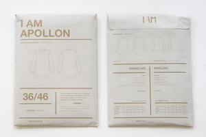 I AM - Apollon Classic Sweatshirt / Short Dress Sewing Pattern
