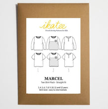 Ikatee - Marcel T-Shirts Pack - Boy 3/12 - Paper Sewing Pattern