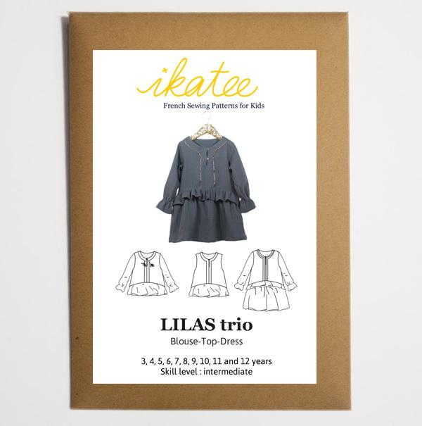 Ikatee - LILAS Trio Blouse - Top - Dress - Ages 3-12 Paper Sewing ...