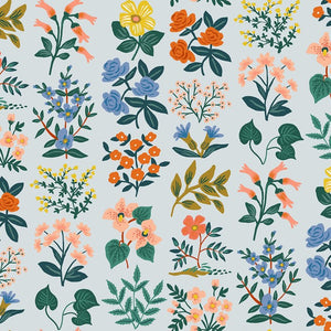 Rifle Paper Co - Wildflower Field Sky Lawn from Meadow