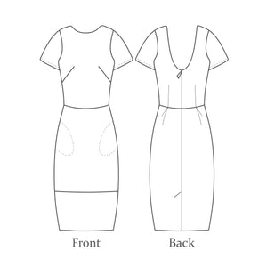 The Avid Seamstress THE SHIFT DRESS Sewing Pattern