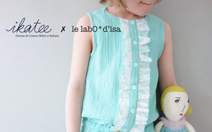 Ikatee - MARIEKE Jumpsuit - Playsuit - Dress - Ages 3-12  Paper Sewing Pattern
