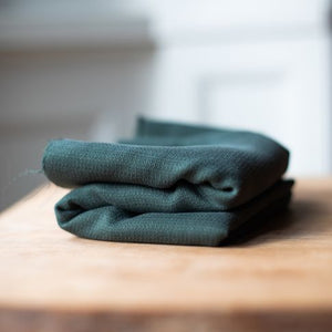 Meet MILK - Tencel Jacquard Deep Green Dress Fabric