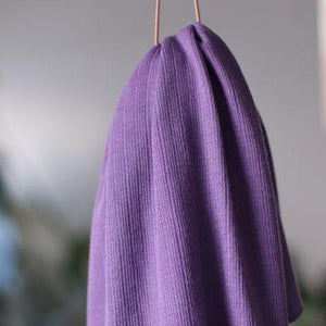 Mind The MAKER - Viscose Trim Knit Violet Fig