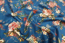 Lady McElroy - Twilight Meadow - 4 way stretch Crepe Fabric