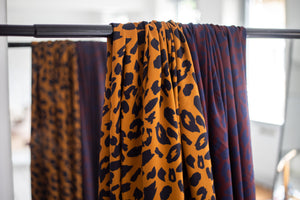 Mind The MAKER - Urban Leo Gold Viscose Twill Dress Fabric (more due soon)