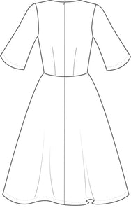 The Avid Seamstress A-Line Dress - Sewing Pattern