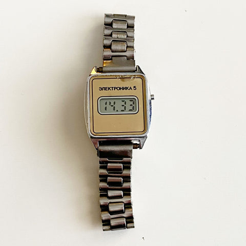 Soviet Russia Elektronika LCD Watch  for @kath_eryn_ann
