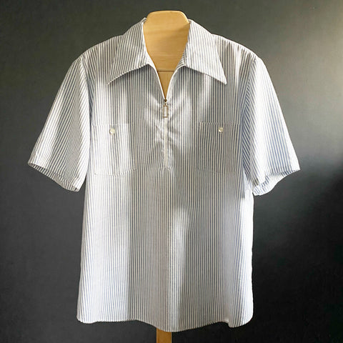 Johnson and Joseph Pinstripe Shirt