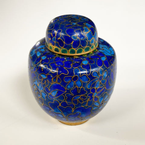 Mini Enameled Ginger Jar