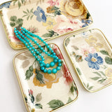 Set of 3 Floral Trays
