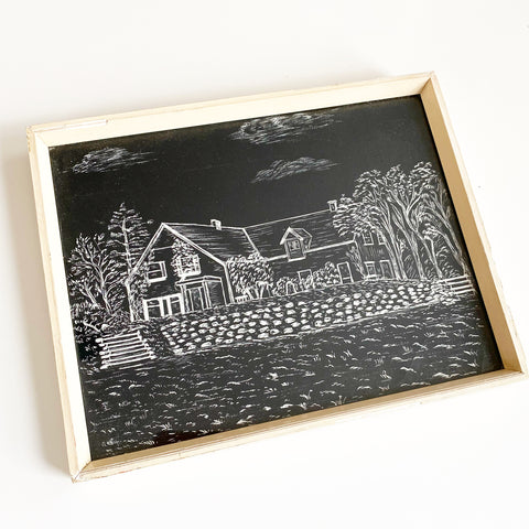 Green Gables 1973 Etching