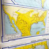 Hispanic America Series 1960s Classroom Map