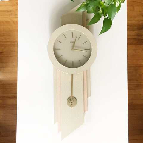 Post Mod 1980s Empire Wall Clock