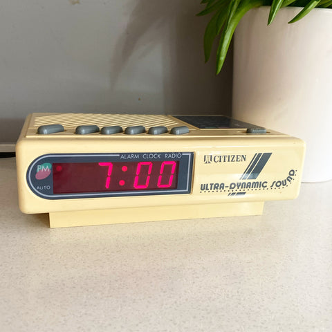 Citizen Retro Clock Radio