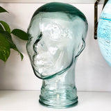 Vintage Glass Head