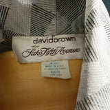 Silver 1980s David Brown for Saks Fifth Avenue Robe