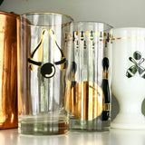Eclectic Set of 6 Bowling Glasses