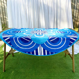 Retro Round Tablecloth