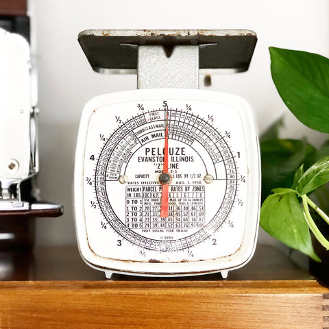 Small Pelouze Postal Scale 1955