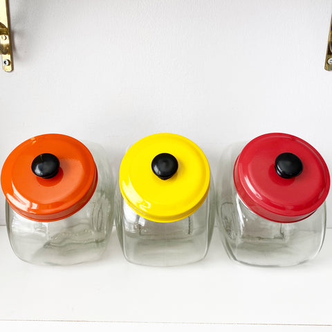 Set of 3 Small Canisters