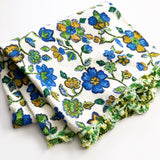 Retro Floral Tablecloth
