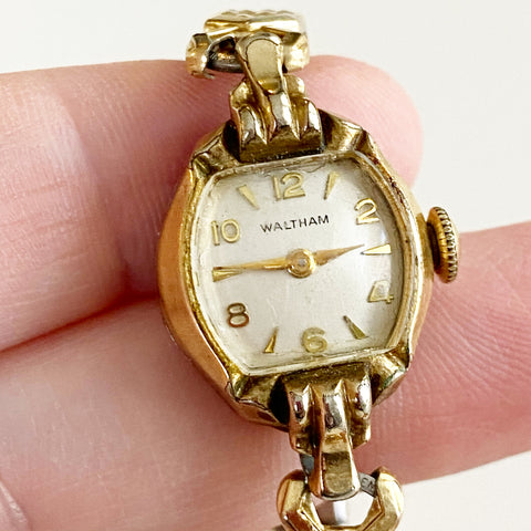 Waltham 10K Gold Filled Bracelet Watch