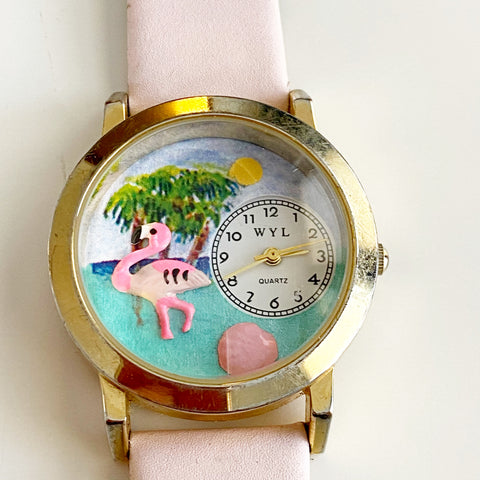 WYL Pink Flamingo Watch for @xcarex