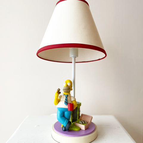 Almost Vintage Simpson's Lamp