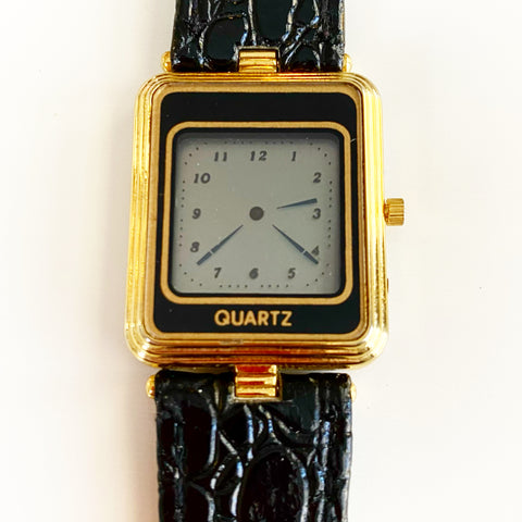 Digital Screen Quartz Watch