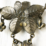 Vintage Sylvie Germain Pewter Necklace