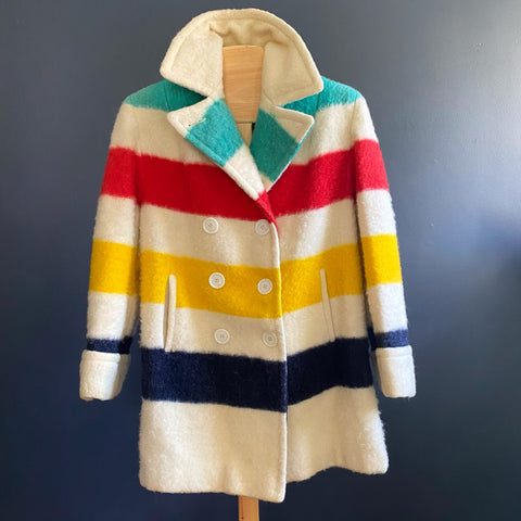 HBC Point Blanket Coat