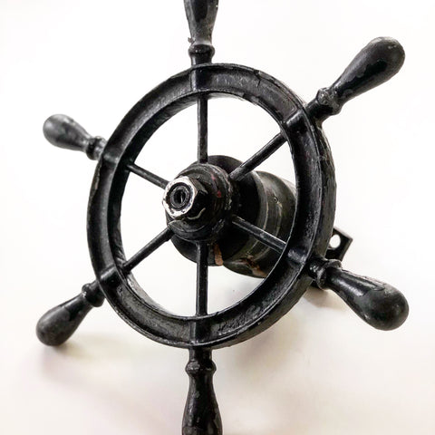Small Cast Iron Ship Wheel