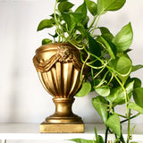 Gold Lion's Head Planter