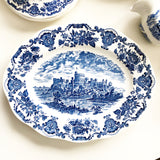 Blue and White Dish Set Enoch Wedgewood (Tunstall) Ltd of England