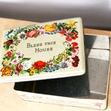 Vintage Bless This House Tin