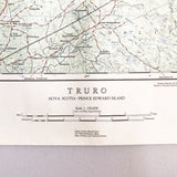 Vintage Truro Nova Scotia Topographic Map 1955