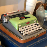Vintage Royal Futura Typewriter Green
