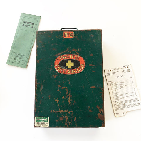 Pacific First Aid Metal Case
