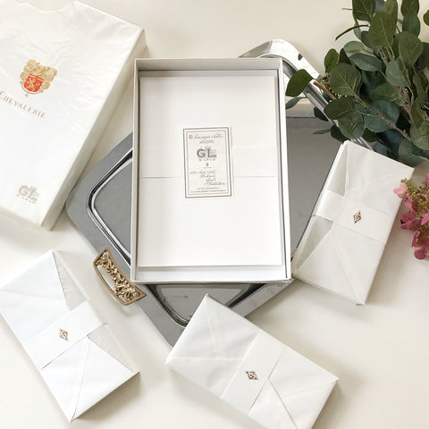 Vintage Chevalerie by G Lalo Paris Stationery Set
