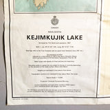 Kejimkujik Lake Topographic Map 1969