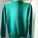 Northern Isles Green Sweater