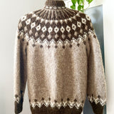 Lopi Hand-knit Button Up Sweater