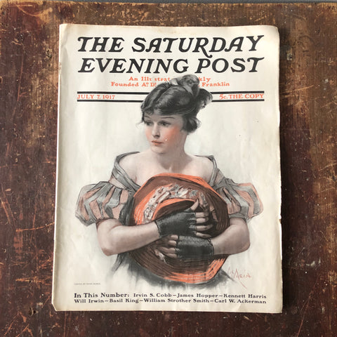 Saturday Evening Post, July 7 1917
