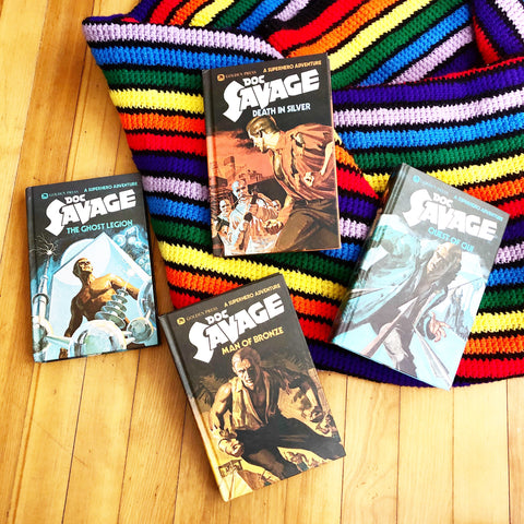 Doc Savage Series Books 1-4