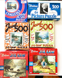 Lot of 6 Antique Jigsaw Puzzles
