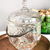 Vintage Cut Glass Ice Bucket